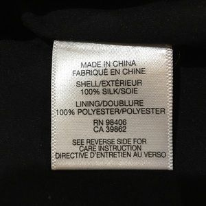 H&M Dresses - Silk little black dress! With tulle! fully lined!
